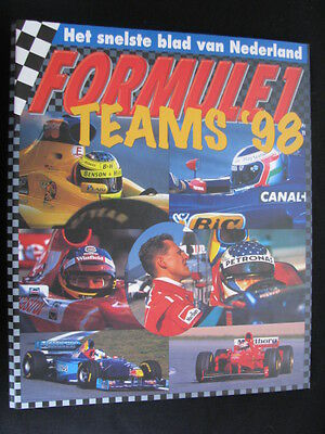 Formule 1 de Teams '98 (1998) in fraaie multomap