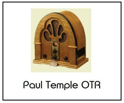 PAUL TEMPLE 11 COMPLETE OLD TIME RADIO SHOWS / Serials - AUDIO BOOKS CD