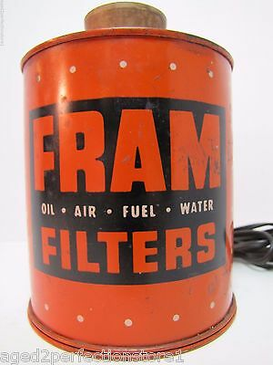 Vintage FRAM Oil Air Fuel Water Filters Cigar Cigarette Lighter unique promo