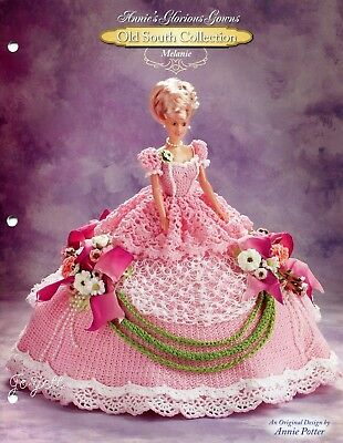 Melanie, Annie's Glorious Gowns Old South Collection crochet patterns