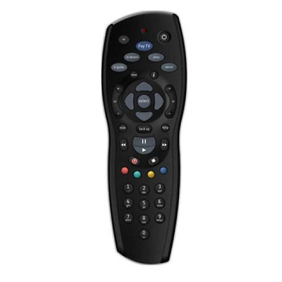 2x FOXTEL REMOTE Control Replacement For FOXTEL MYSTAR SKY NEW ZEALAND - Black