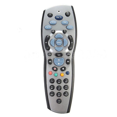 NEW FOXTEL REMOTE Control Replacement For FOXTEL MYSTAR SKY NEW ZEALAND - Silver