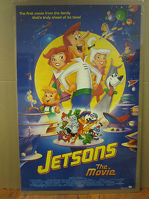Vintage The Jetsons the movie 1990 leisure rules movie poster 2205