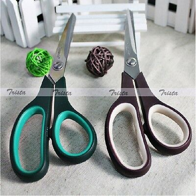ABS Handle Stainless Steel Household Office  Tailor Sewing Shears Scissors  JUK