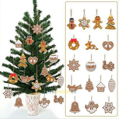 17Pcs Animal Snowflake Christmas Tree Hanging Ornaments Decoration Xmas Decor #l