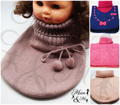 Kids Boys Girls Knitted Scarf Winter Scarf Neck Warmer