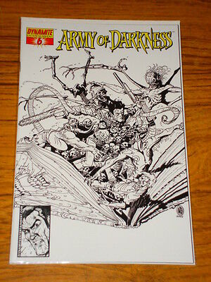 Army Of Darkness #6 Sketch Ed Variant Comic Dynamite