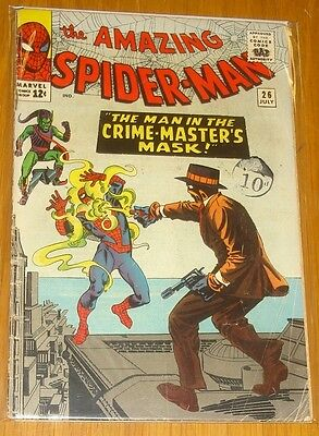 Amazing Spiderman #26 G/vg (3.0) July 1965 Green Goblin Marvel Comics*
