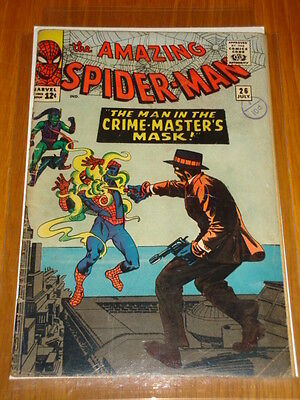Amazing Spiderman #26 Vg (4.0) July 1965 Green Goblin App Ditko Marvel Comics*