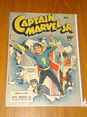 Captain Marvel Jr #30 Vg (4.0) 1945 May Fawcett*