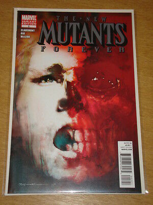 New Mutants Forever #2 Marvel Comics Variant Edition Claremont
