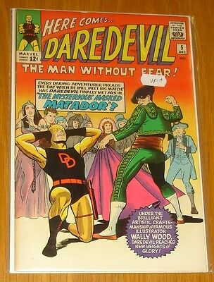 Daredevil #5 Vf (8.0) December 1964 Man Without Fear Marvel Comics*