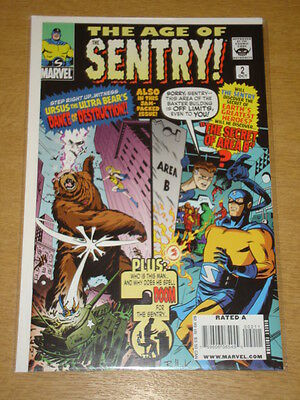 Sentry Age Of #2 Marvel Comics Variant Edition Cover