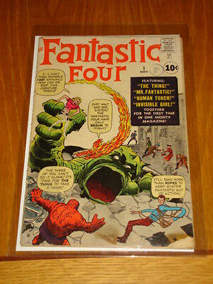 Fantastic Four #1 G+ (2.5) Original Copy 1St App November 1961 Kirby Marvel*