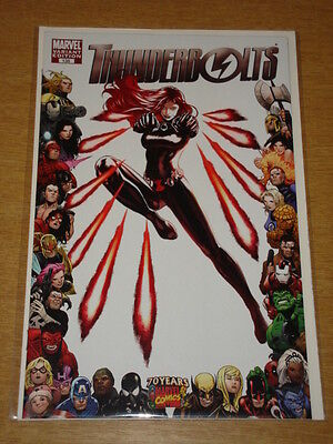 Thunderbolts #135 70 Years Of Marvel Comics Frame Variant Cover