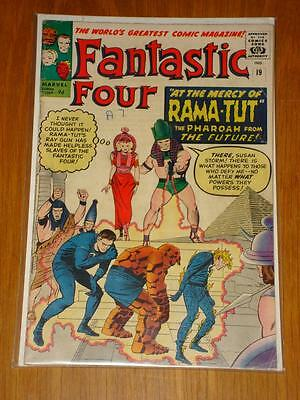 Fantastic Four #19 Marvel Comic Oct 1963 Vg (4.0) *