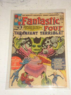 Fantastic Four #24 G (2.0) March 1964 Jack Kirby*