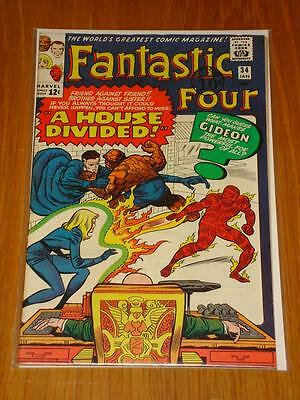 Fantastic Four #34 Marvel Comic Jan 1965 Vf (8.0) *
