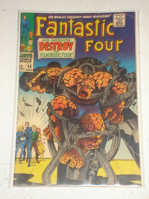 Fantastic Four #68 Vg+ (4.5) November 1967 Jack Kirby*