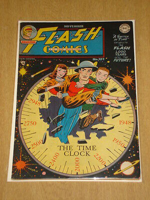 Flash Comics #101 Fn+ (6.5) Scarce 1948 Dc Comics*