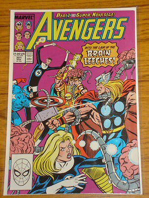 Avengers #301 Vol1 Marvel Comics Nova Apps March 1989