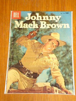 Johnny Mack Brown #776 Vg (4.0) 1956 Dell Comic Western*