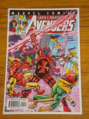 Avengers #41 Vol3 Marvel Comics June 2001