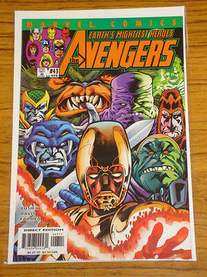 Avengers #43 Vol3 Marvel Comics August 2001