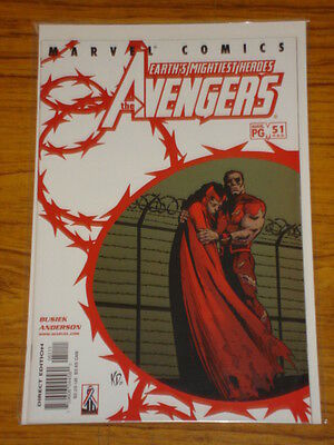 Avengers #51 Vol3 Marvel Comics April 2002