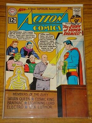 Action Comics #286 Fn (6.0) Dc Trial Of Superman
