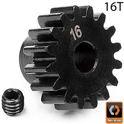 HPI # 100915 - PINION GEAR 16 TOOTH (1M/5mm SHAFT) Savage Trophy Vorza FLUX HP