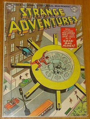 Strange Adventures #36 Vg (4.0) Dc Comics Science Fiction September 1953*