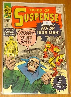 Tales Of Suspense #48 Vf+ (8.5) December 1963 Iron Man New Armour Marvel Comics*
