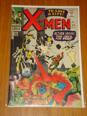 X-Men Uncanny #23 Marvel Comic Aug 1966 Vfn (8.0) *