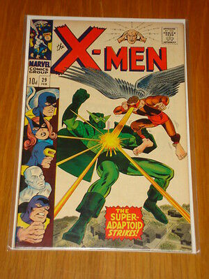 X-Men Uncanny #29 Marvel Comic Feb 1967 Vfn (8.0) *