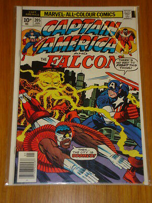 Captain America #205 Marvel Comic Near Mint Kirby January 1977