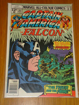 Captain America #207 Marvel Comic Near Mint Kirby March 1977