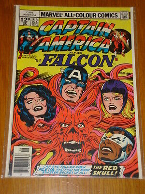 Captain America #210 Marvel Comic Near Mint Kirby Arnim Zola Story June 1977