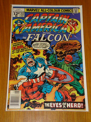 Captain America #212 Marvel Comic Near Mint Kirby Arnim Zola Story August 1977