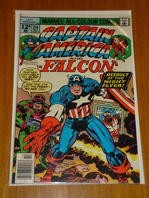 Captain America #214 Marvel Comic Near Mint Kirby October 1977