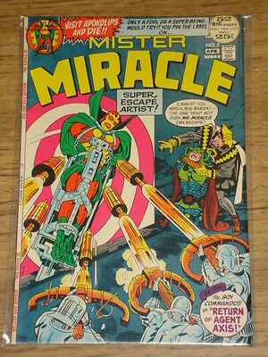 Mister Miracle #7 Vf (8.0) Dc Comics Kirby
