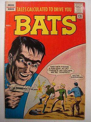 Tales Calculated To Drive You Bats #7 Vg+ (4.5) Archie