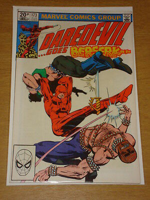 Daredevil #173 Marvel Comic Near Mint Miller Daredevil August 1981