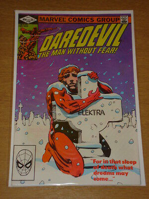 Daredevil #182 Marvel Comic Near Mint Miller Daredevil May 1982
