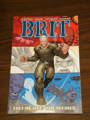 Brit Vol 1 Old Soldier Image Comics Tony Moore Gn 9781582406787