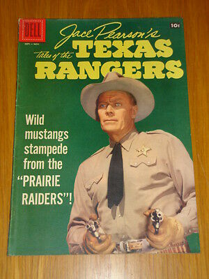 Jace Pearson's Tales Of The Texas Rangers #17 Vg (4.0) 1957 Dell Western Comic A
