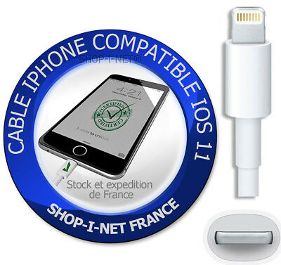 Chargeur Iphone 5 5S Se 5C 6 6S 7 8 Cable Usb Data Synchro Lightning 8 Pin