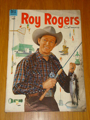 Roy Rogers #81 Vg (4.0) 1954 Dell Western Comic