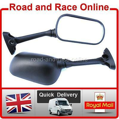 2001-2006 Mirrors Left /& Right Naked UK Suzuki GSF 1200 Bandit Pair