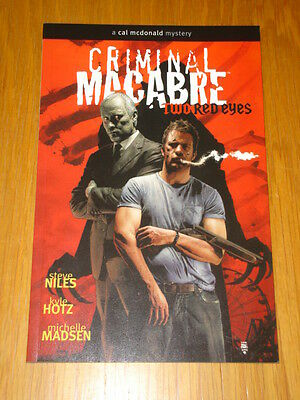 Criminal Macabre Two Red Eyes Vol 4 Graphic Novel Tpb 9781593078430